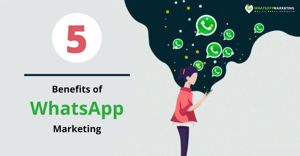 blog banner 5 benefits of whatsapp marketing